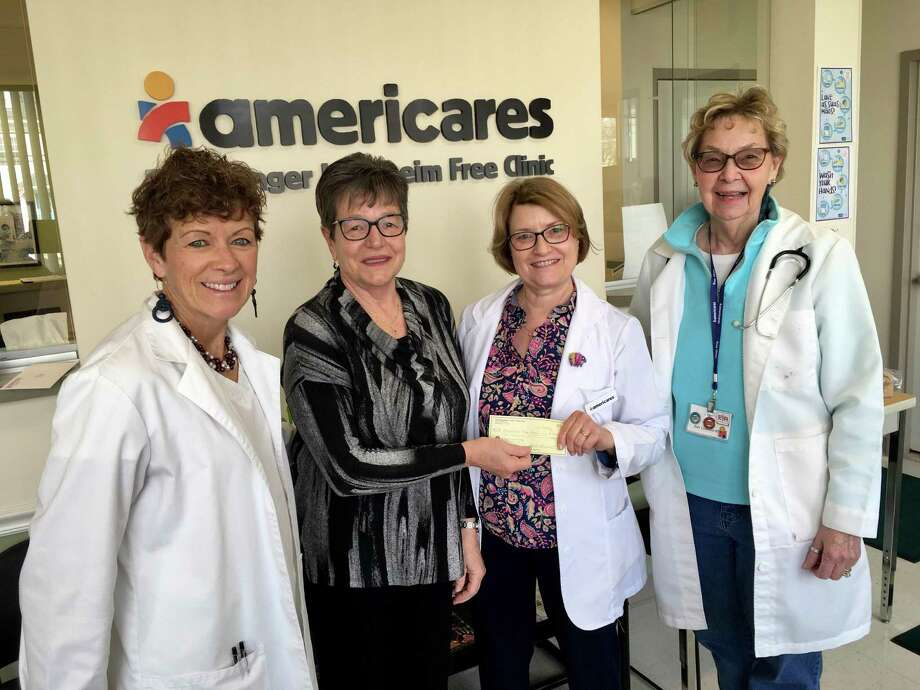 Mary Beth Fessler, APRN,  RTS volunteer Jayne Flynn, Judy Hottle, RN, and Jody Gemmel, RN. Photo: Contributed Photo
