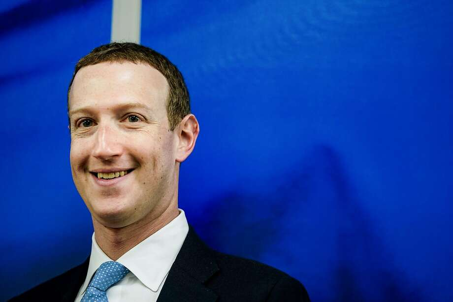 Facebook's Mark Zuckerberg said the difference between good and bad information is clearer in a medical crisis. Photo: Kenzo Tribouillard / AFP / Getty Images