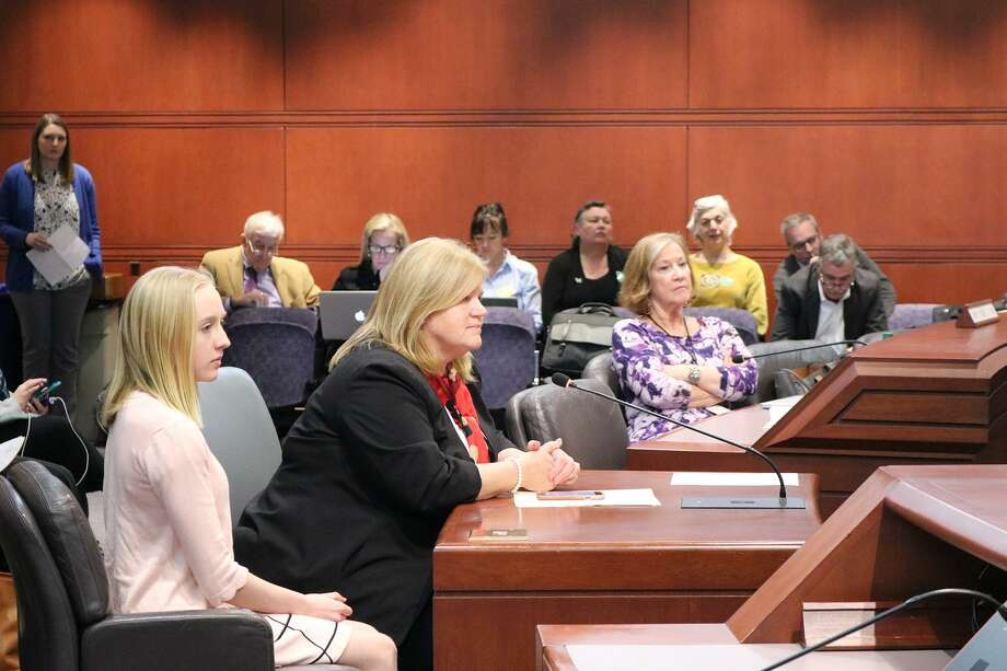 """State Rep. Irene Haines, R-Meriden, testified before the Environment Committee March 6 to advocate for """"An Act Prohibiting the Release of Helium Balloons into the Atmosphere."""" Photo: Contributed Photo"""