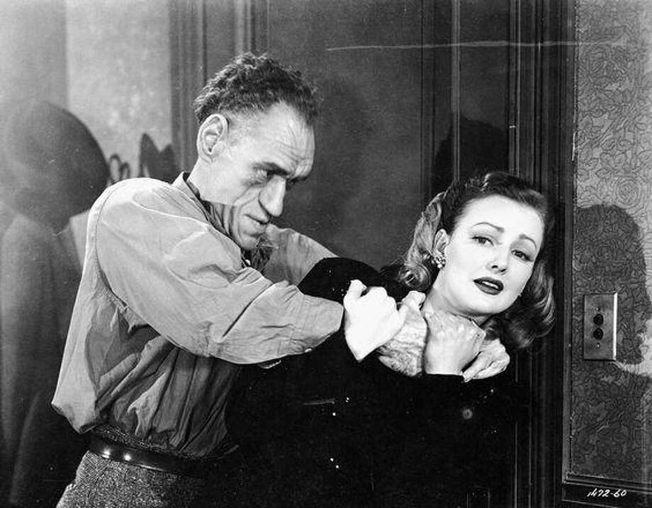 "Rondo Hatton terrorizes Virginia Grey in ""House of Horrors,"" which is included on Volume 4 of the Universal Horror Collection. Photo: Universal Pictures"