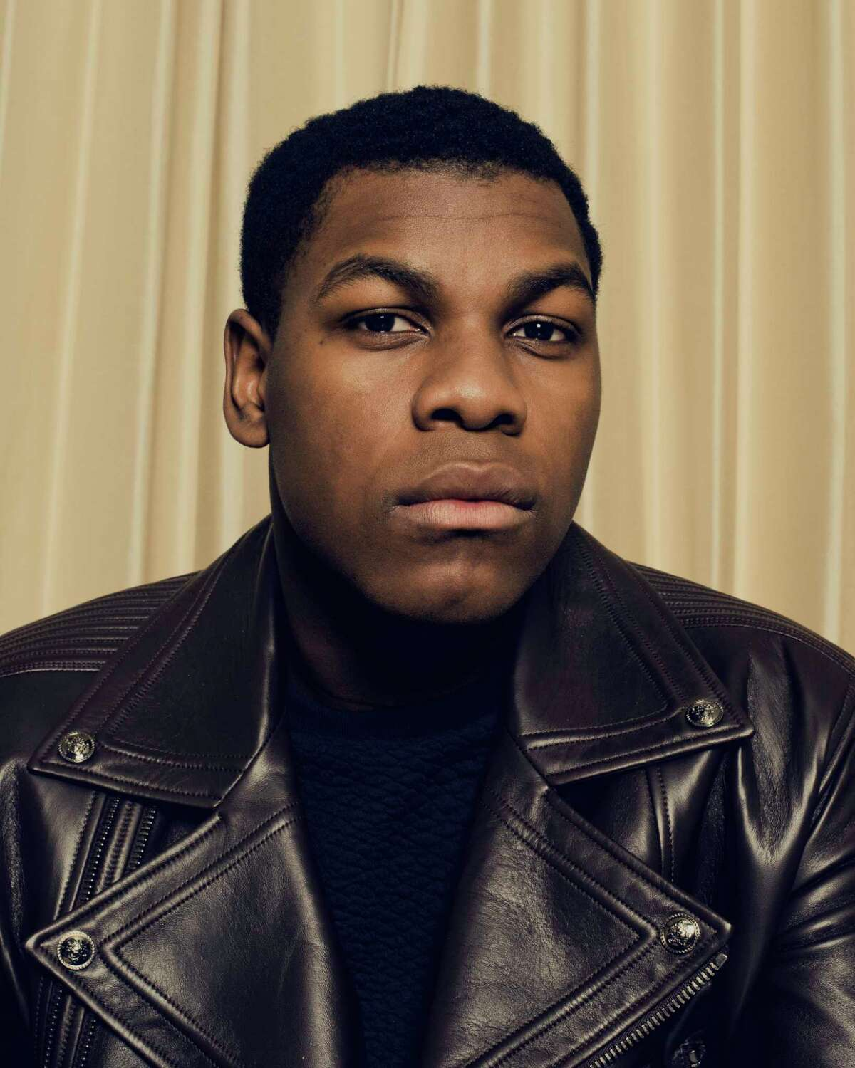 -- PHOTO MOVED IN ADVANCE AND NOT FOR USE - ONLINE OR IN PRINT - BEFORE DEC. 20, 2015. -- John Boyega, 23, who plays a disaffected stormtrooper named Finn in the upcoming a€œStar Wars: The Force Awakensa€ film, in New York, Dec. 2, 2015. Boyega and his fellow British co-star, Daisy Ridley, both with little previous screen exposure, are bracing themselves for the biggest roles of their careers. (Ryan Pfluger/The New York Times) ORG XMIT: XNYT75