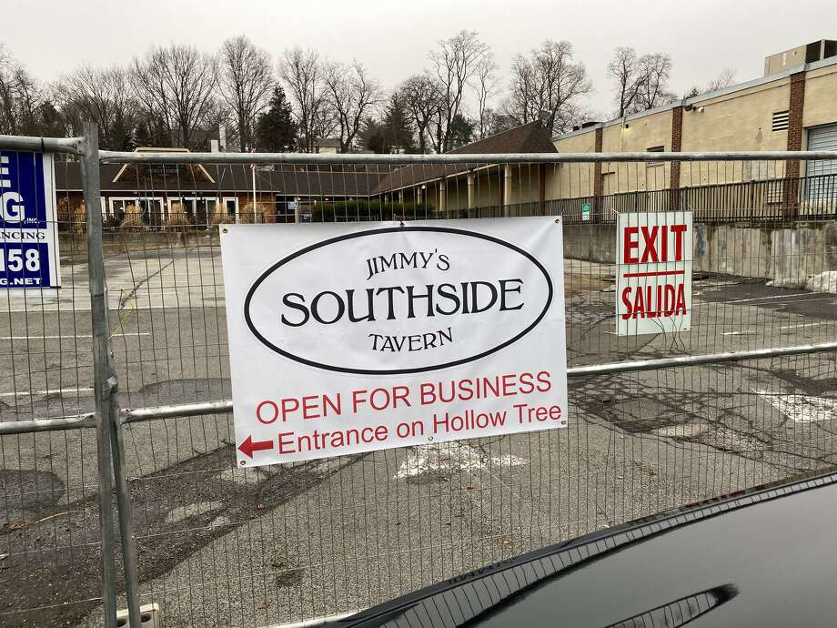 Jimmy's Southside Tavern in Darien, which closed Monday, March 16. Photo: Contributed Photo / Connecticut Post