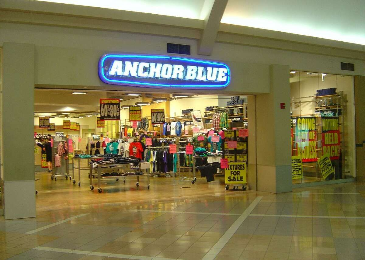 Anchor Blue - Category: clothing - Year founded: 1972 - Year defunct: 2011 - Lifetime: 39 years Anchor Blue, a teen clothing chain that launched in 1972, filed for bankruptcy in 2011 after 39 years of being in business. At the time it closed, there were 117 stores, the majority of which were in California. However, at its height, the chain had more than 300 stores in the United States. Sadly, the retailer could not survive the economic downturn in 2009 and by 2011 decided to fold. This slideshow was first published on theStacker.com