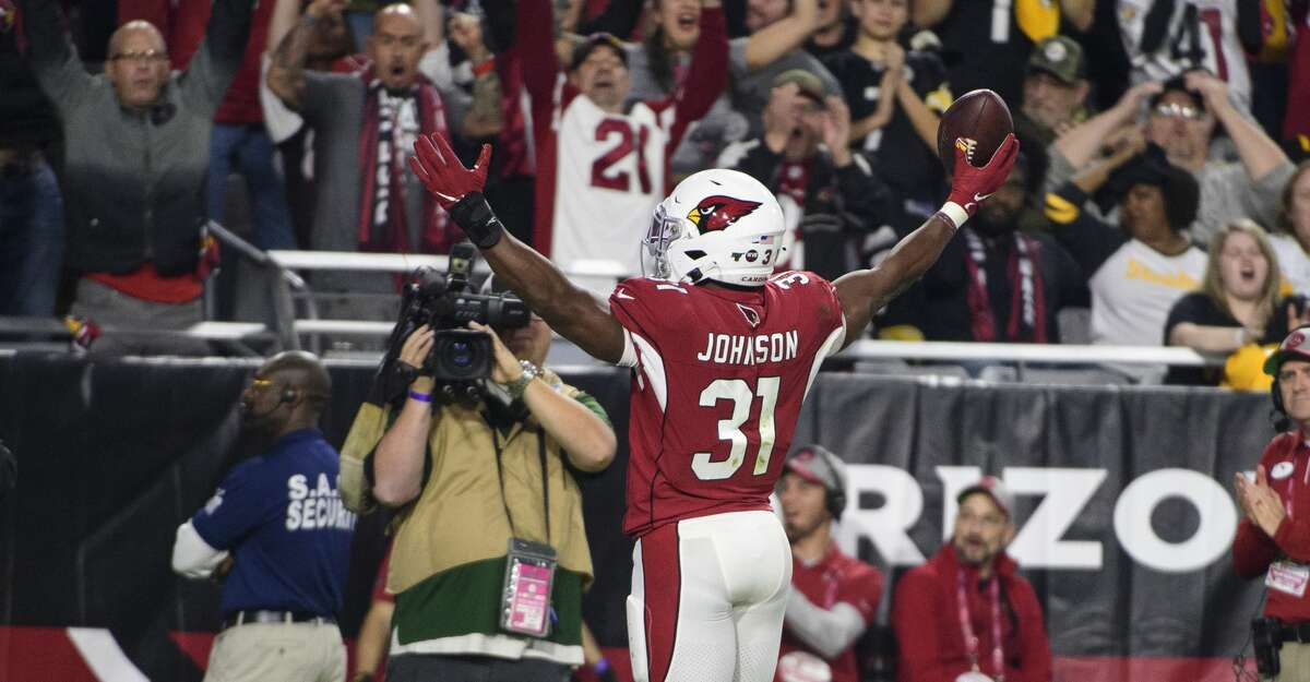 DAVID JOHNSON, RUNNING BACKWhat's expected of him?After getting him in the DeAndre Hopkins trade, Johnson better produce big on offense. He'll be asked to be the bellcow out of the backfield, taking the place of Carlos Hyde, who rushed for 1,070 yards last season but opted not to re-sign with the Texans.