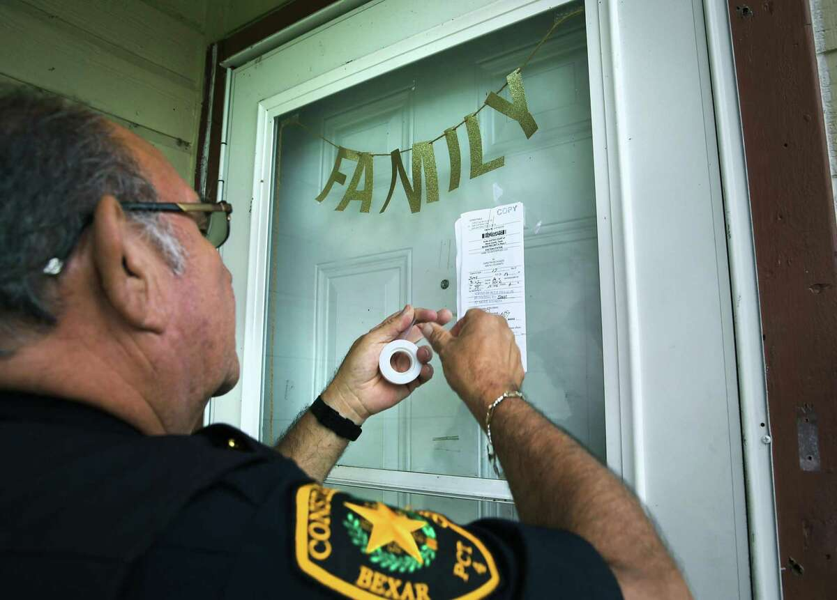 Last year, Bexar County landlords filed more than 21,000 eviction lawsuits, an average of 57 new cases a day.