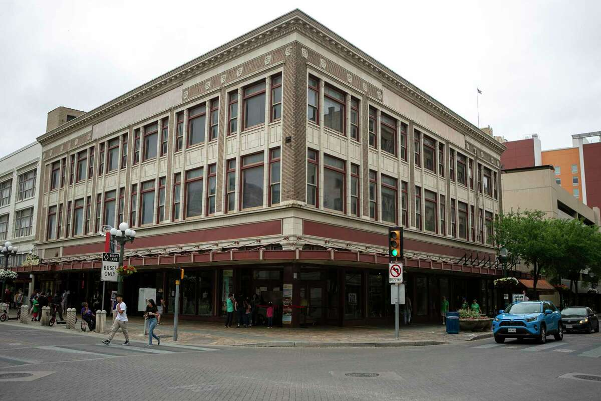The Woolworth Building in San Antonio, Texas, as seen on March 16, 2020, the 60th anniversary of the desegregation of lunch counters in San Antonio.