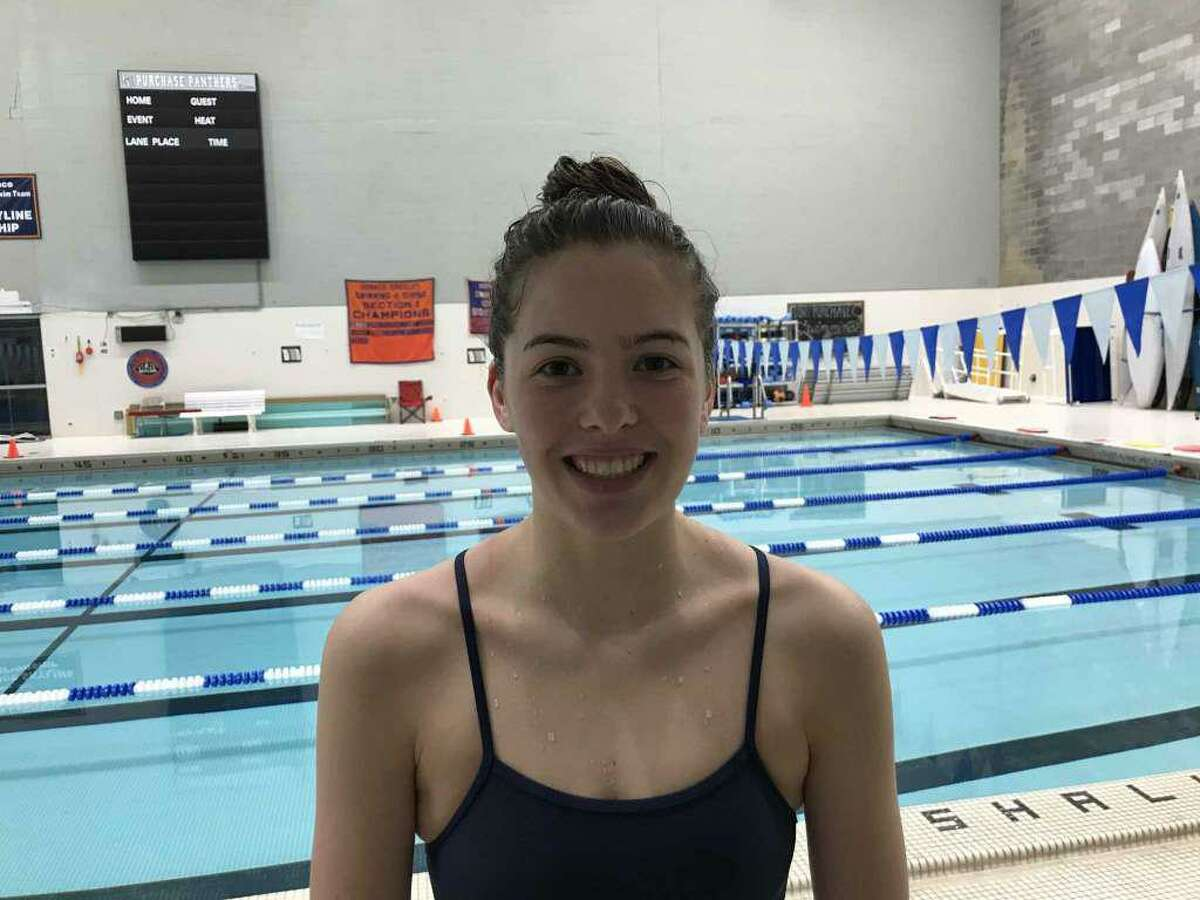 Sacred Heart Greenwich eighth-grader Alexandra Bastone earned All-NEPSAC and All-FAA Team honors, after producing a standout swimming season.