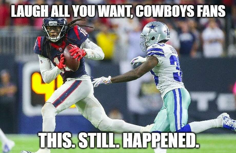 PHOTOS: The best memes to come out of the Texans' trading away DeAndre Hopkins