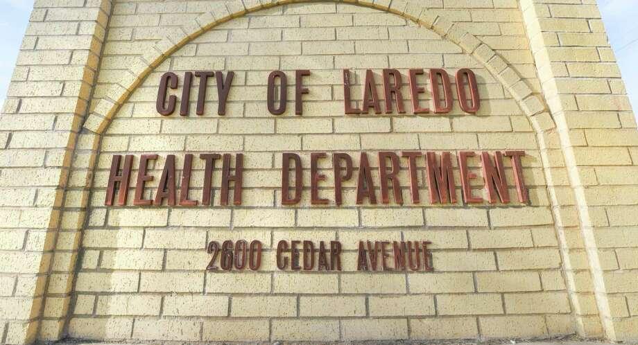 Una vista del anuncio del Departamento de Salud de la Ciudad de Laredo fue tomado el jueves 12 de marzo de 2020. El primer caso de una paciente que contrajo el nuevo Coronavirus fue confirmado por las autoridades de salud de la Ciudad de Laredo. Photo: Danny Zaragoza /Laredo Morning Times / Laredo Morning Times