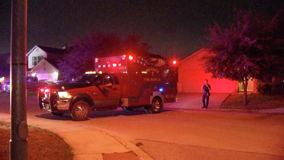 A San Antonio woman was arrested after she was accused of stabbing a man in the leg with a pocket knife on the far Northwest Side, according to the Bexar County Sheriff's department. Photo: Ken Branca