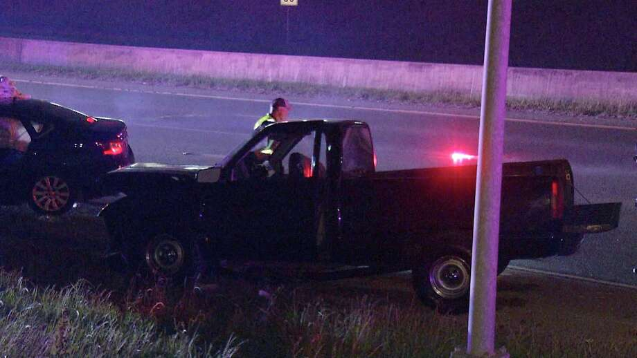 An 8-year-old was among six people hospitalized after a wrong-way driver caused a head-on crash near the 11900 block of I35. Photo: Ken Branca