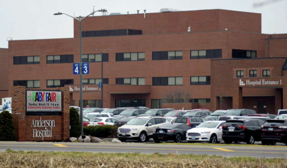Anderson Hospital in Maryville announced Monday new visitor restrictions in response to the COVID-19 virus. Photo: Tyler Pletsch|Intelligencer File Photo