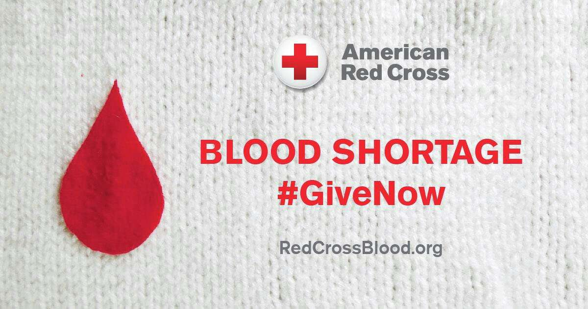 The American Red Cross now faces a severe blood shortage due to an unprecedented number of blood drive cancellations in response to the coronavirus outbreak. Healthy individuals are needed now to donate to help patients counting on lifesaving blood.