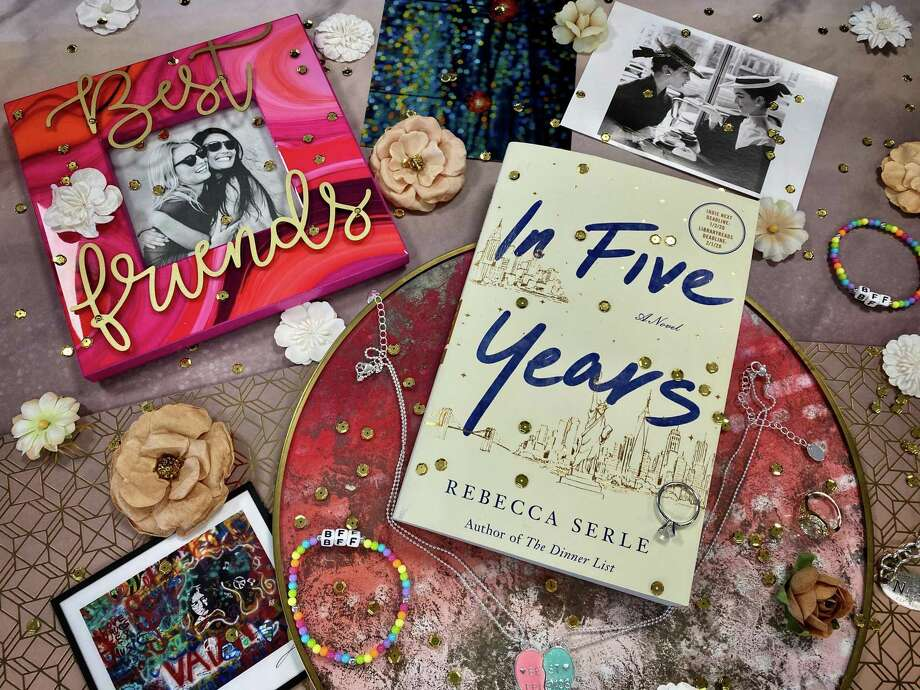 """In Five Years"" by Rebecca Serle is an unexpected love story. Photo: TinaMarie Craven / Hearst Connecticut Media /"