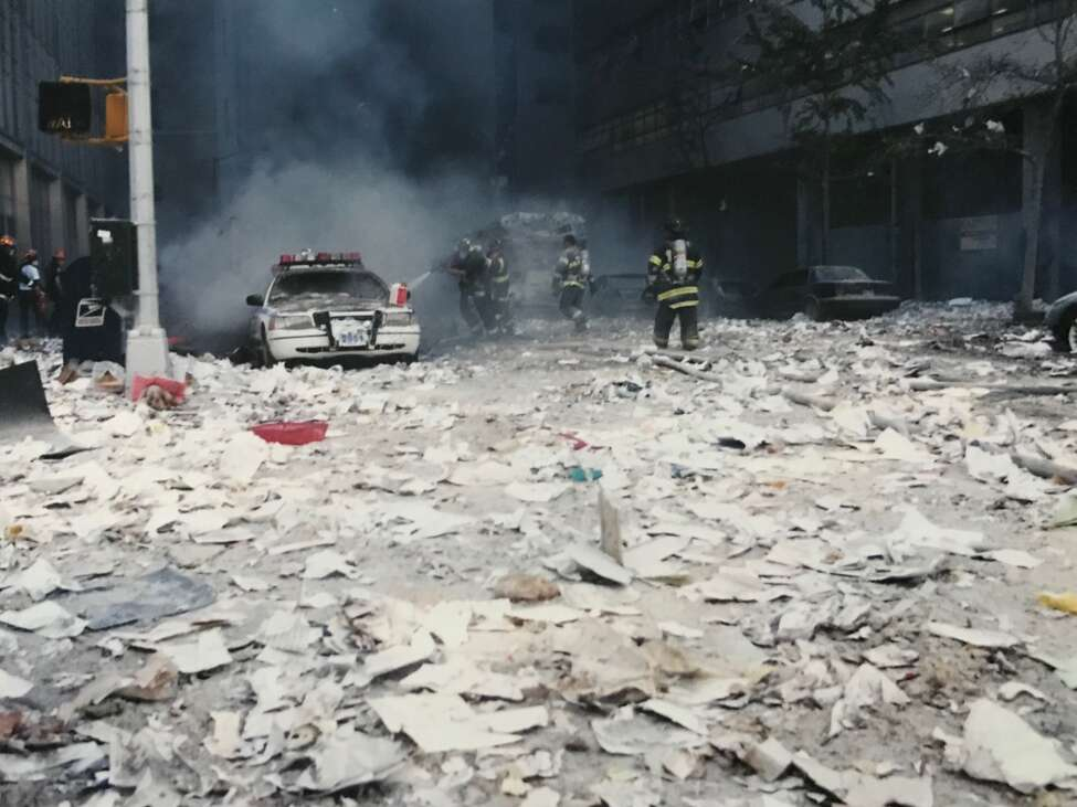 First responders, medical personnel, emergency management officials and volunteers all worked together to mitigate the terrorist attacks on the World Trade Center in New York City on Sept. 11, 2001 that killed 2,753 people and injured 6,000. The victims included 343 New York City firefighters, 23 police officers and 37 Port Authority employees. (Paul Grondahl / Times Union)