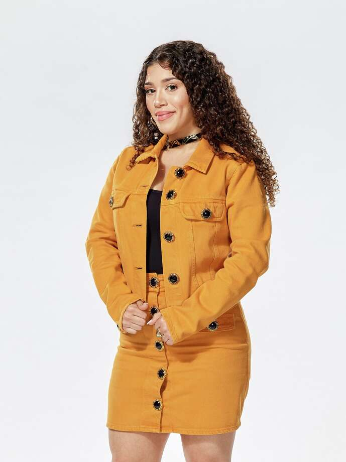 """Mandi Castillo, 23, advanced to the next round on """"The Voice"""" after winning her battle round this week on the NBC singing competition. Photo: MPRM Communications / 2020 NBCUniversal Media, LLC"""
