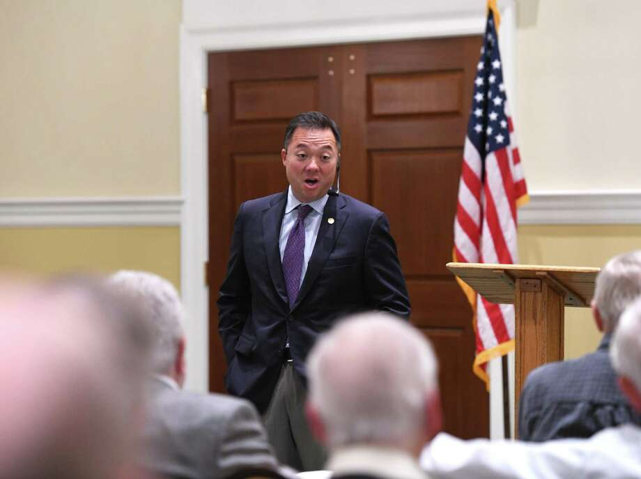 Connecticut Attorney General William Tong in October 2019 in Greenwich, Conn. Photo: Tyler Sizemore / Hearst Connecticut Media / Greenwich Time