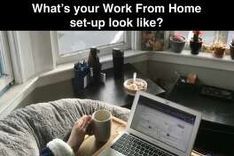How does yours look? Send your work from home set-up pics to andrew.chamings@sfgate.com