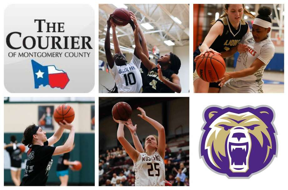 College Park's Ali Diop, Grand Oaks' Kaitlyn Stewart, Legacy Prep's Mary Wittmer, Magnolia West's Evyn Snook and Montgomery's Emma Moore are The Courier's nominees for Newcomer of the Year. Photo: Staff Photos