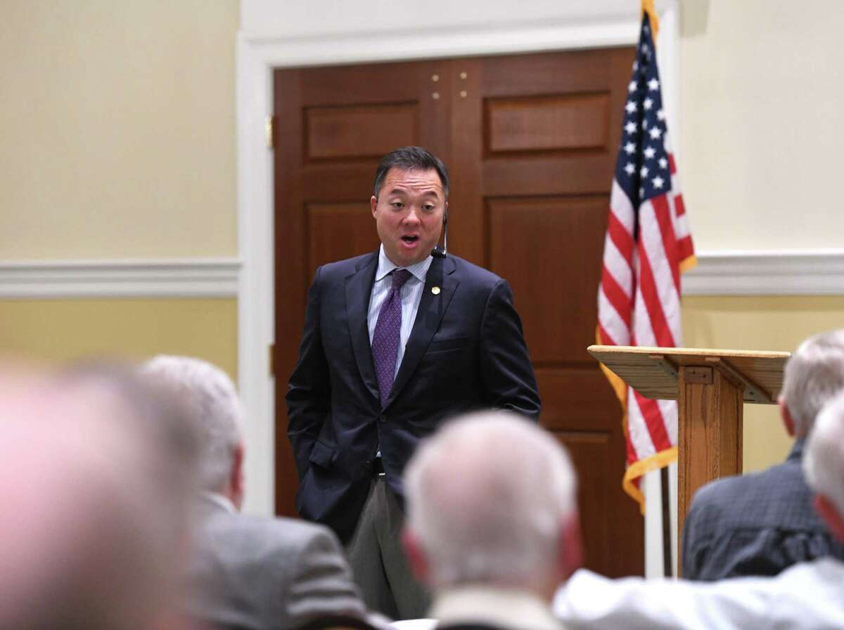 Connecticut Attorney General William Tong in October 2019 in Greenwich, Conn.