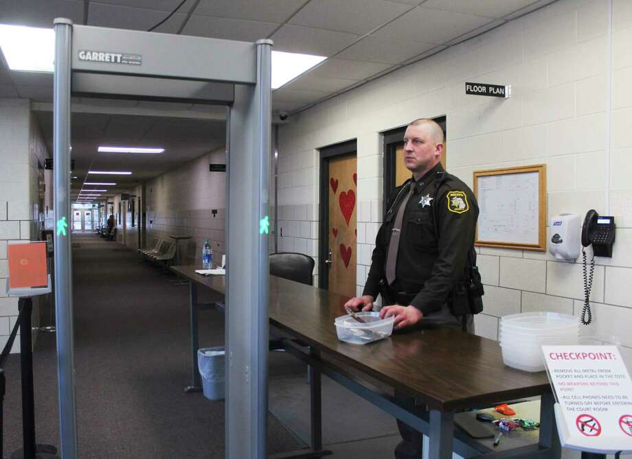 Courthouses in Mecosta, Osceola and Lake counties are taking steps to prevent the future spread of the coronavirus by closing their doors to the public for the upcoming weeks. Essential staff will continue working at the courts and will be available on a limited basis by phone. (Pioneer file photo)