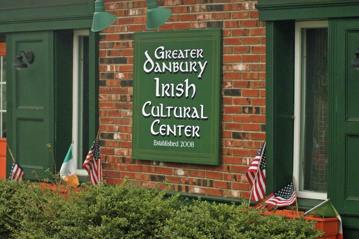 Volunteers at the Greater Danbury Irish Culture Center kept the spirit of St. Patrick's Day alive on Tuesday by selling corned beef sandwiches at the curbside for drive-up customers.