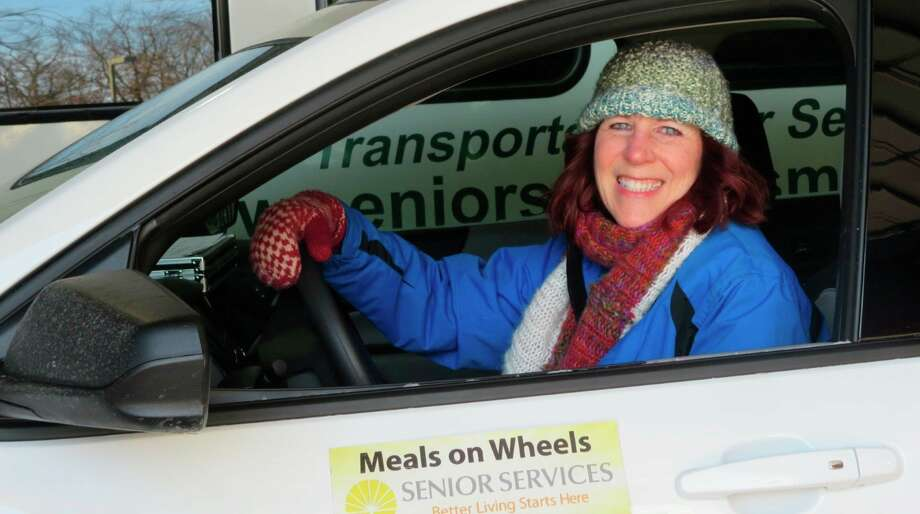 Pictured is a Meals on Wheels volunteer. (Photo provided) Photo: (Photo Provided)