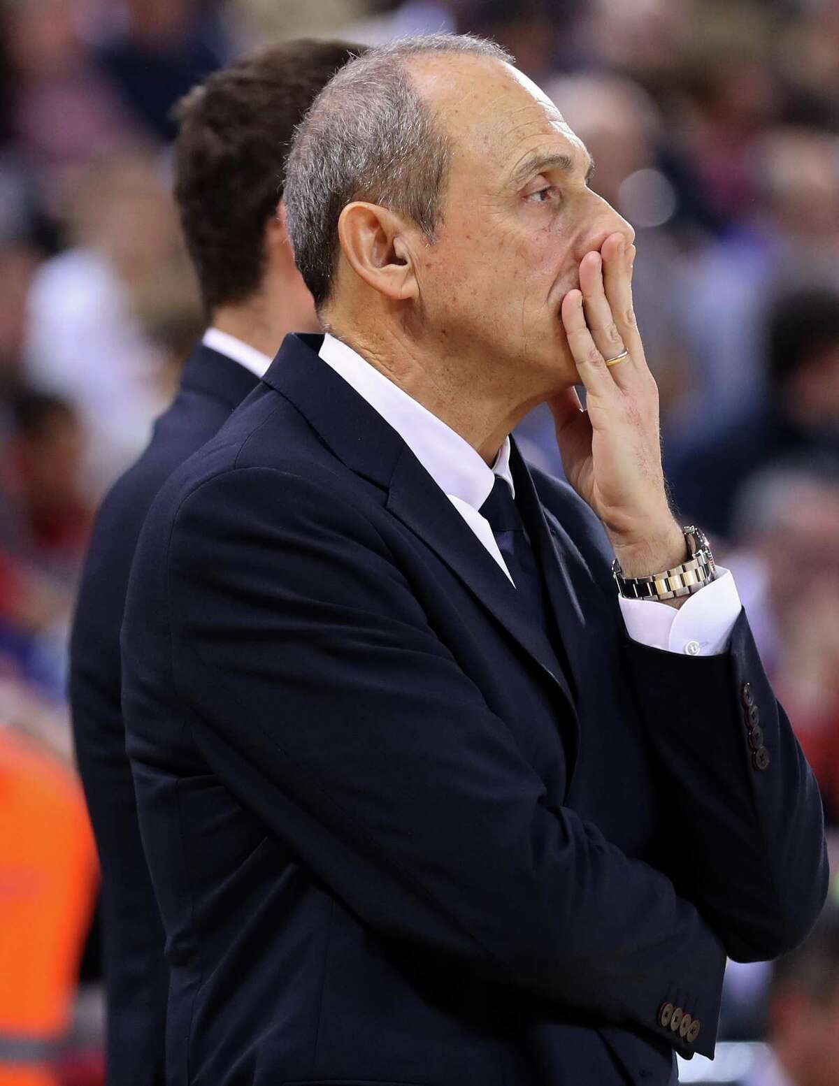 Ettore Messina during the match between FC Barcelona and AX Armani Exchange Olimpia Milano, corresponding to the week 24 of the Eurleague, played at the Palau Blaugrana, on 07th february 2020, in Barcelona, Spain. (Photo by Joan Valls/Urbanandsport /NurPhoto via Getty Images)
