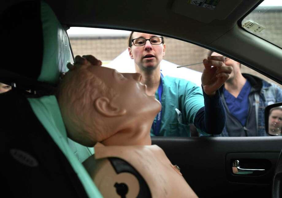 Bridgeport hospitals launch drive-thru testing ...