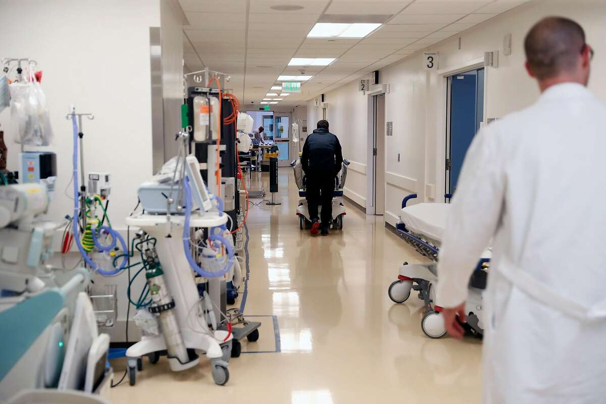 Emergency room at San Francisco General Hospital in San Francisco, Calif., on Thursday, January 23, 2020.