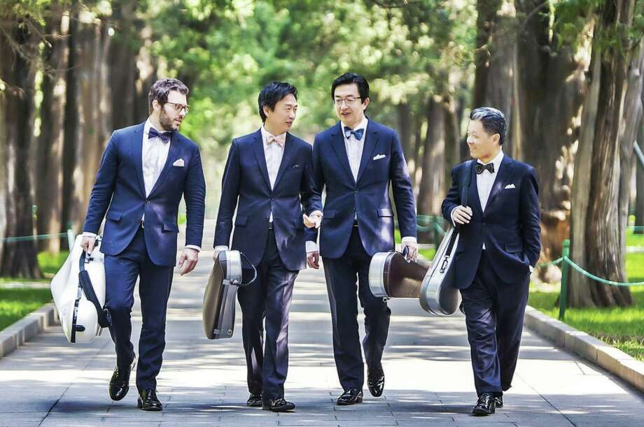The Shanghai Quartet, performing at Music Mountain for 31 consecutive years, takes on Labor Day Weekend Concerts, Sept. 5-6. Photo: Shanghai Quartet / Contributed Photo