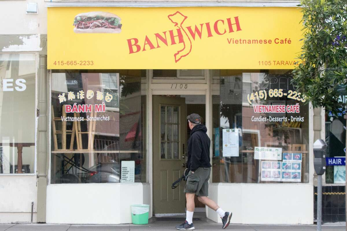 A restaurant on Taraval Street still offered take out food. San Francisco had its first shelter-in-place day on March 17th, 2020 in response to the spread of the COVID-19 coronavirus.