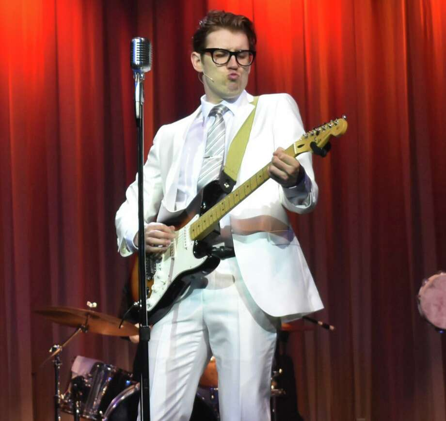 """Buddy — The Buddy Holly Story,"" featuring Kyle Jurassic, will be performed at MTC MainStage in Norwalk May 15-31. Photo: Julie Curry Photography / Contributed Photo"