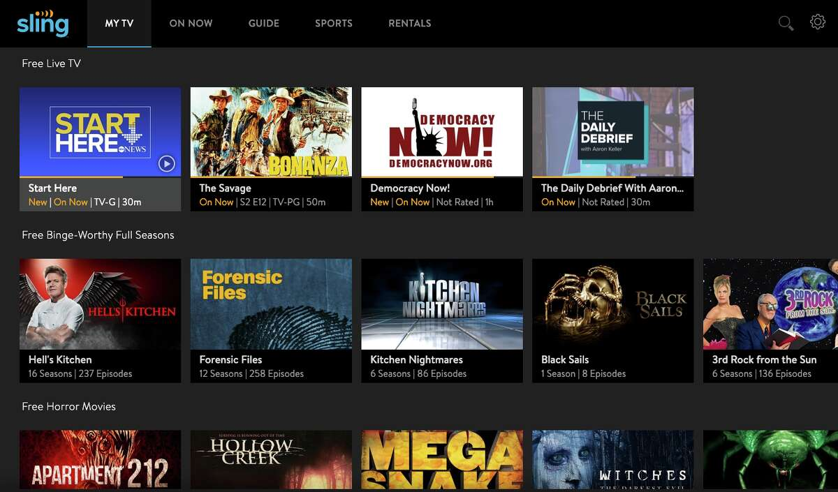Streaming TV service Sling is offering a free option that includes live news from ABC, as well as TV shows and movies. CONTINUE to see what's new on Netflix, Hulu and other streaming services.