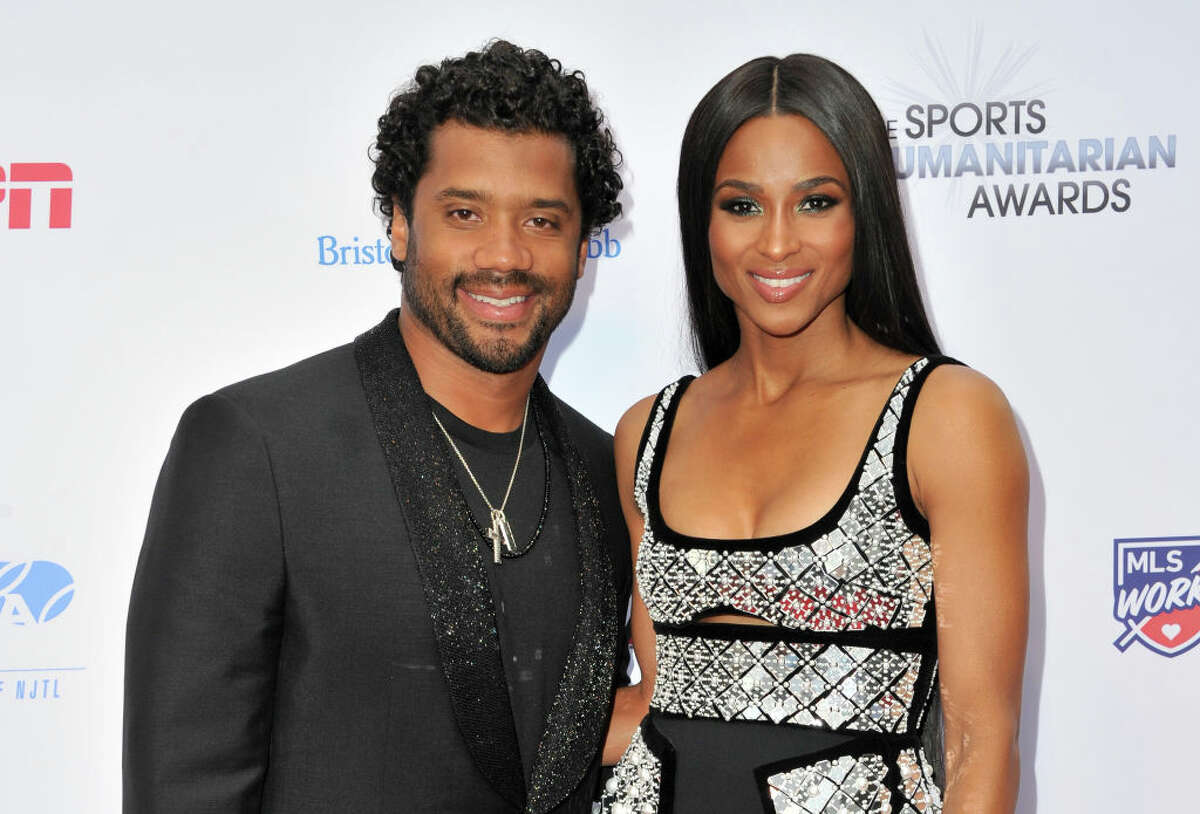 Russeel Wilson and Ciara announced Friday the birth of their son Win.