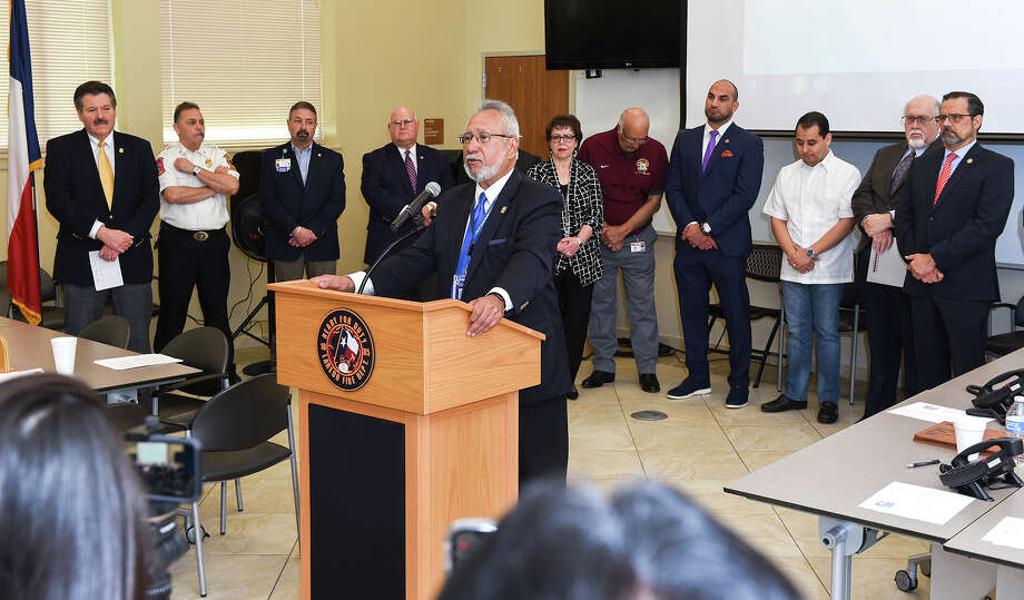 The City of Laredo and Webb County have announced two additional cases of COVID-19, bringing the total number of cases in the Gateway City to 19. Photo: Danny Zaragoza/Laredo Morning Times / Laredo Morning Times