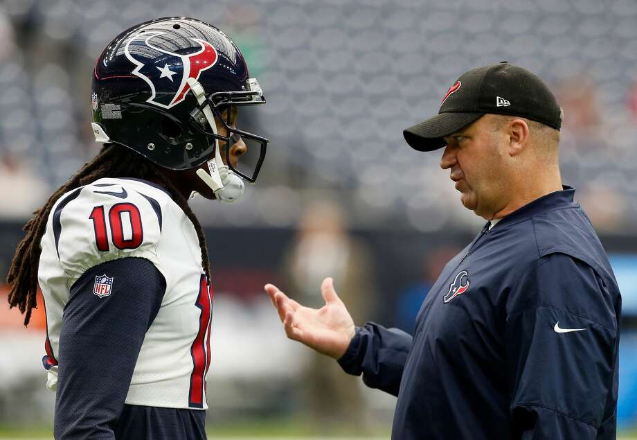 PHOTOS: How current and former Texans players reacted to the DeAndre Hopkins trade