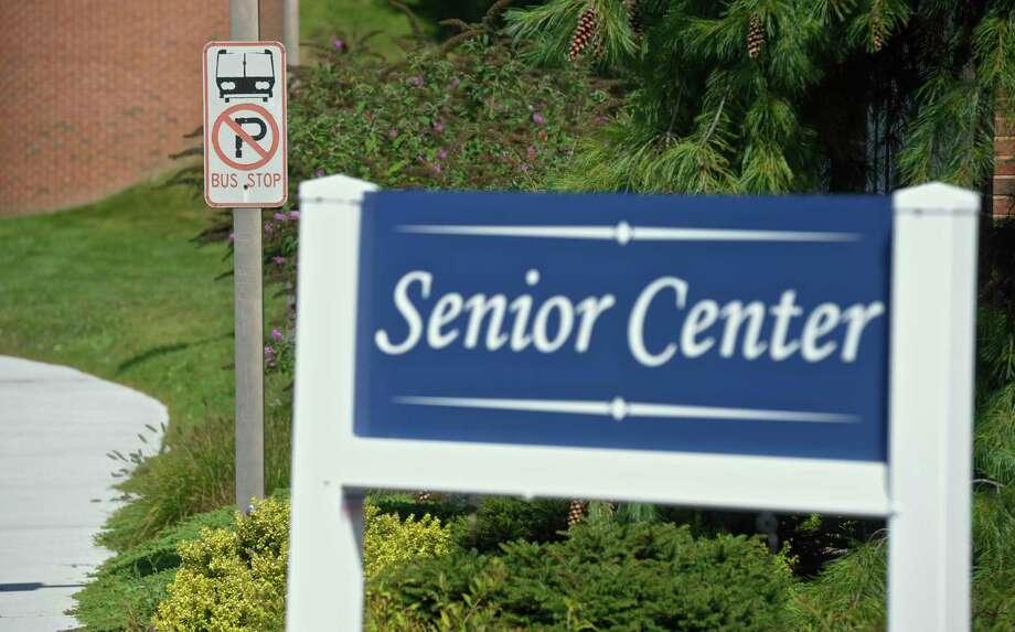 Senior Center/Municipal Center in Brookfield, Conn. Photo: H John Voorhees III / Hearst Connecticut Media / The News-Times