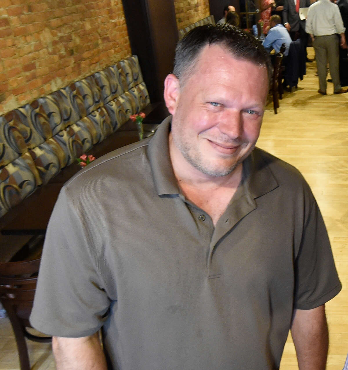 Jason Pierce, co-owner of Savoy Taproom in Albany.