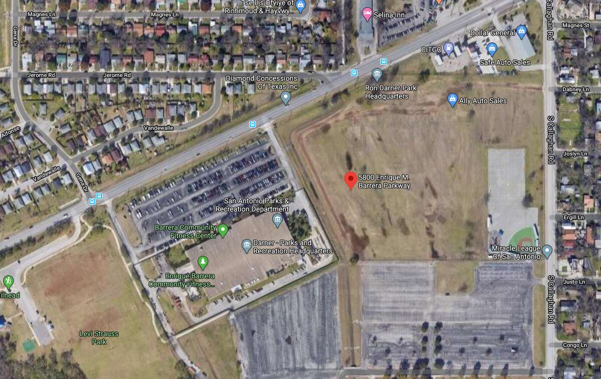 A man died after he was hit by a truck in front of the city of San Antonio's Parks and Recreation Department headquarters on the West Side, according to San Antonio police. The map shows an approximate location of the incident.