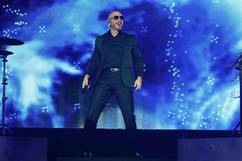 Pitbull's March 27 performance at Foxwoods Resort Casino has been postponed. The rapper is seen here in concert at the H-E-B Center on Feb. 23 in Cedar Park, Texas. Photo: Suzanne Cordeiro / AFP Via Getty Images / AFP or licensors
