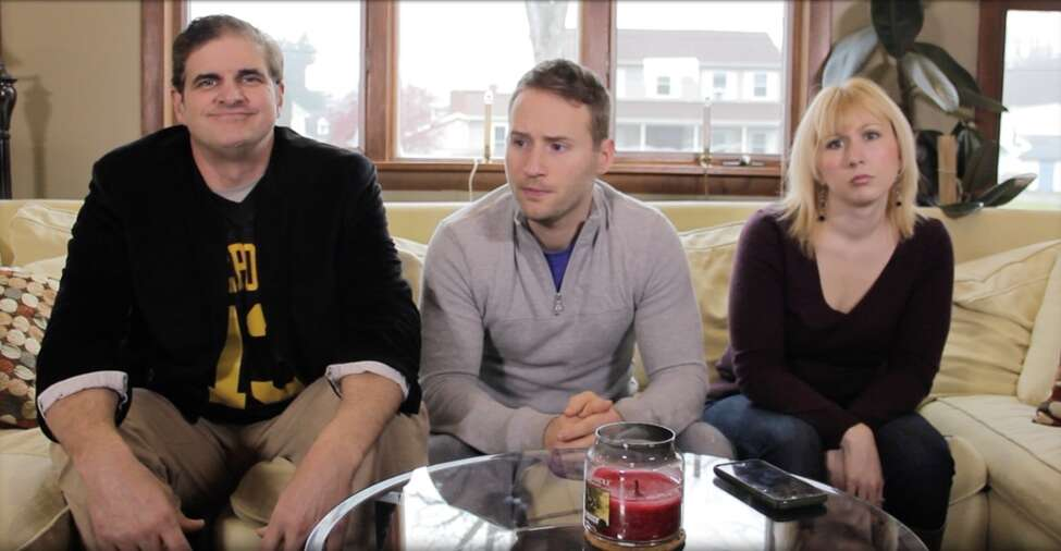 (From left) Ronald B Martin, Justin Alvis and Mindy Miner in