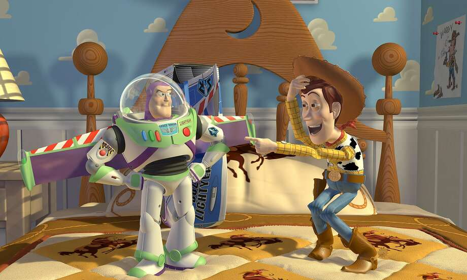 """A photo provided by Pixar, a still from the movie """"Toy Story."""" The Association for Computing Machinery, the world's largest society of computing professionals, said Drs. Ed Catmull and Pat Hanrahan, who have both worked for Pixar, would receive this year's Turing Award, often called the Nobel Prize of computing, for their work on three-dimensional computer graphics, or CGI. (Pixar via The New York Times) Photo: Pixar 1995"""
