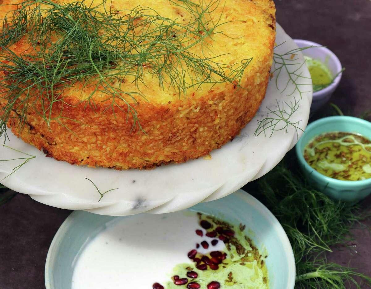 Persian Rice Ring from chef Anita Jaisinghani