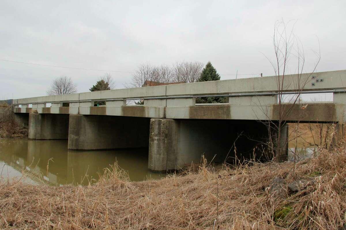 The Notter Road Bridge in Winsor Township. (Robert Creenan/Huron Daily Tribune)