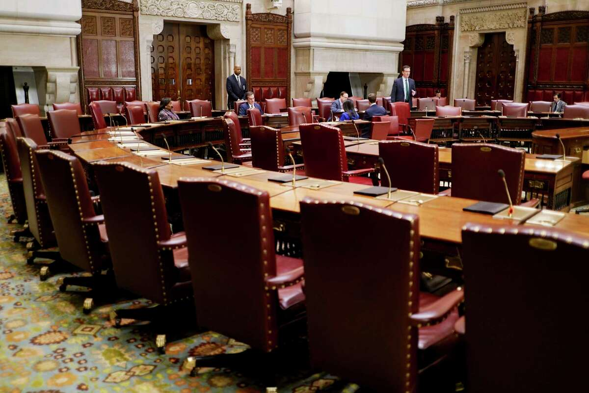 FILE. Letter writer says voters should watch carefully how state's Democrats, who are in the majority in the Legislature, handle reapportionment. (Paul Buckowski/Times Union)