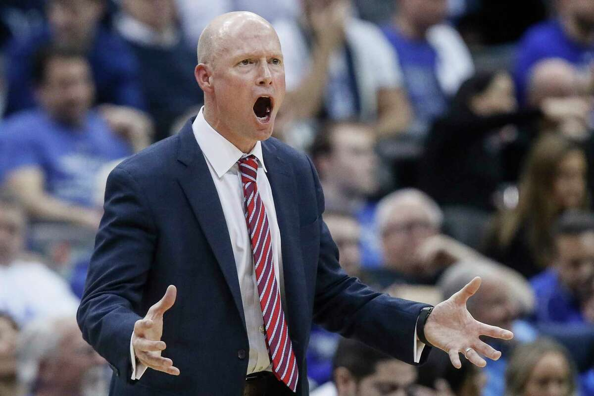 Seton Hall head coach Kevin Willard reacts during the first half of an NCAA college basketball game against Villanova, Wednesday, March 4, 2020, in Newark, N.J.