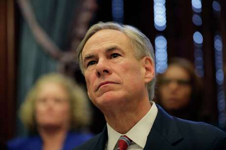 Texas Gov.Greg Abbott gives an update on the coronavirus, Friday, March 13, 2020, in Austin, Texas. Abbott declared a state of disaster Friday as the coronavirus pandemic spread to all of the state's biggest cities. (AP Photo/Eric Gay)