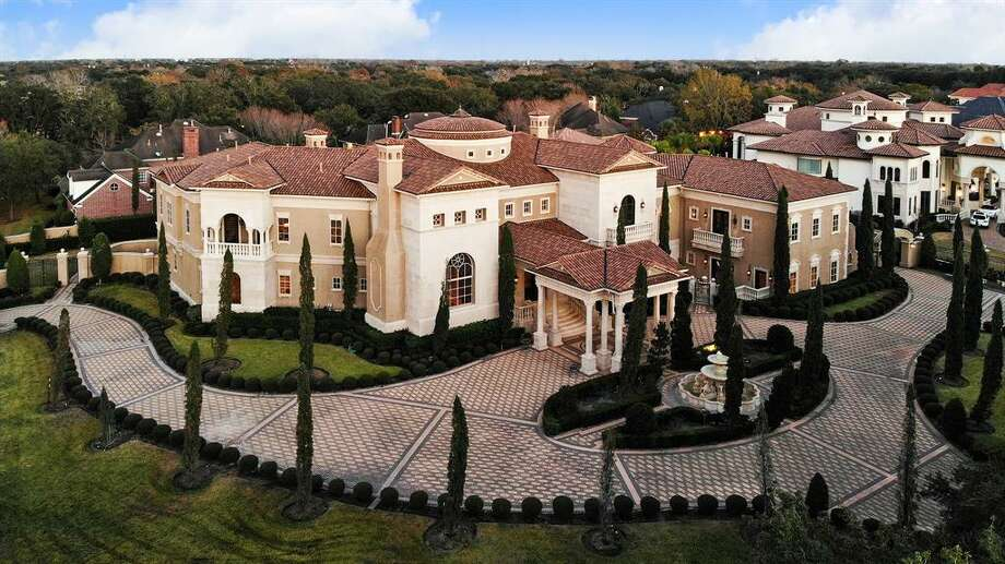 At 19,180 square feet, this Sugar Land home is currently the largest house listed for sale in the Houston area. Photo: Houston Association Of Realtors