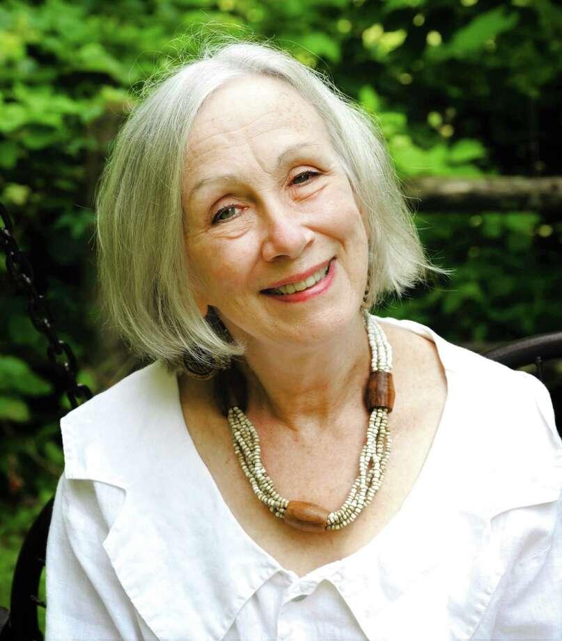 Ridgefield's poet Laureate Barb Jennes Photo: Contributed Photo